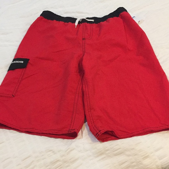 01038a7eb8 Boys quiksilver swim trunks suit shorts xl NWT